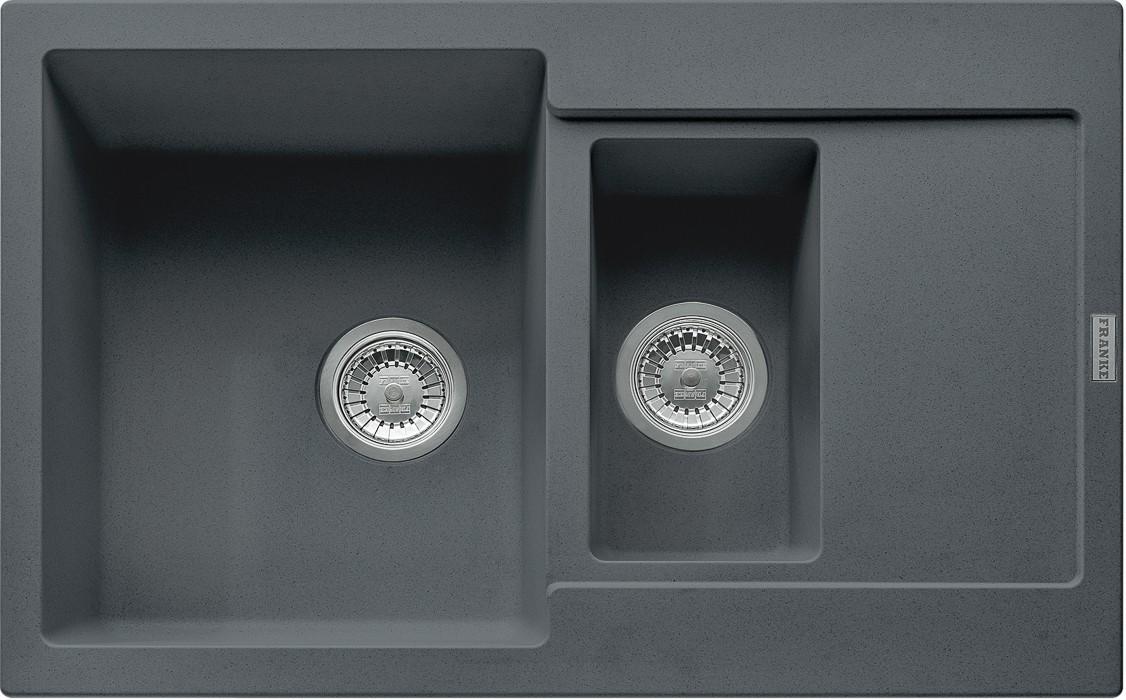 Dřez rovný Franke - dřez Fragranit MRG 651-78, 780x500 (grafit)