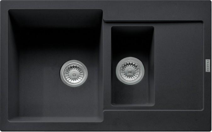 Dřez rovný Franke - dřez Fragranit MRG 651-78, 780x500 (onyx)
