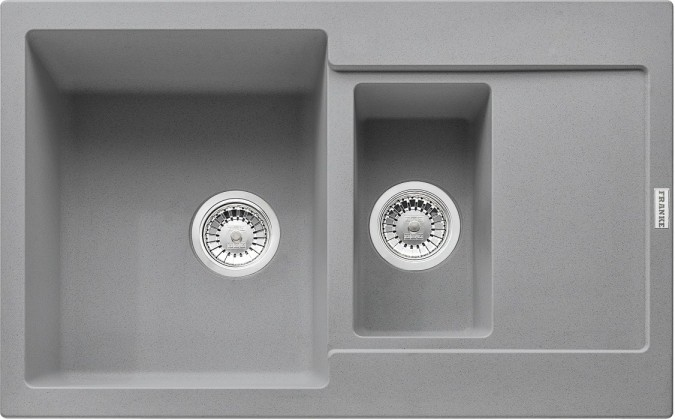 Dřez rovný Franke - dřez Fragranit MRG 651-78, 780x500 (šedý kámen)