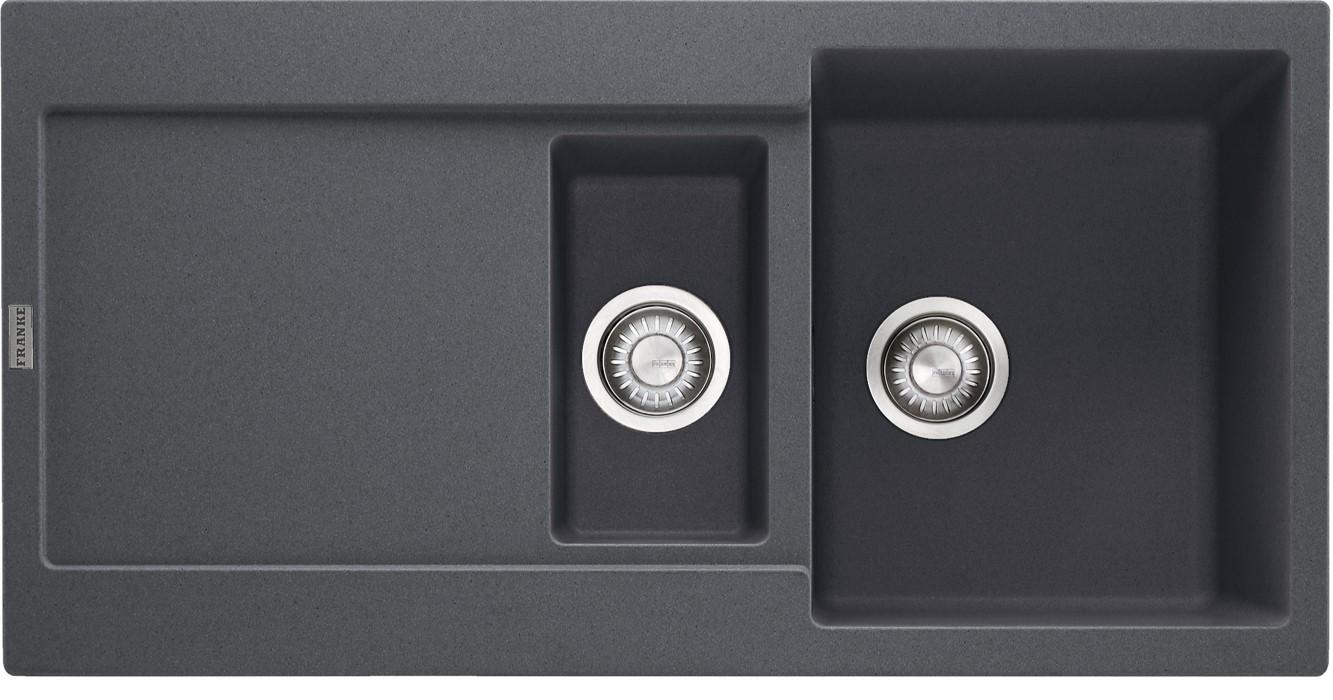 Dřez rovný Franke - dřez Fragranit MRG 651, 970x500 (grafit)
