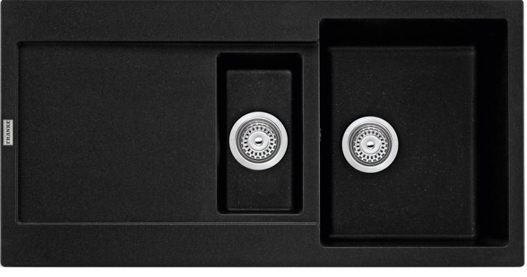 Dřez rovný Franke - dřez Fragranit MRG 651, 970x500 (onyx)