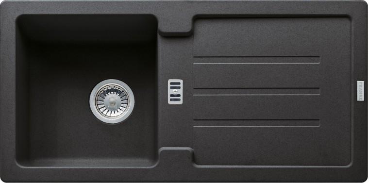 Dřez rovný Franke - dřez Fragranit STG 614, 860x435mm (onyx)