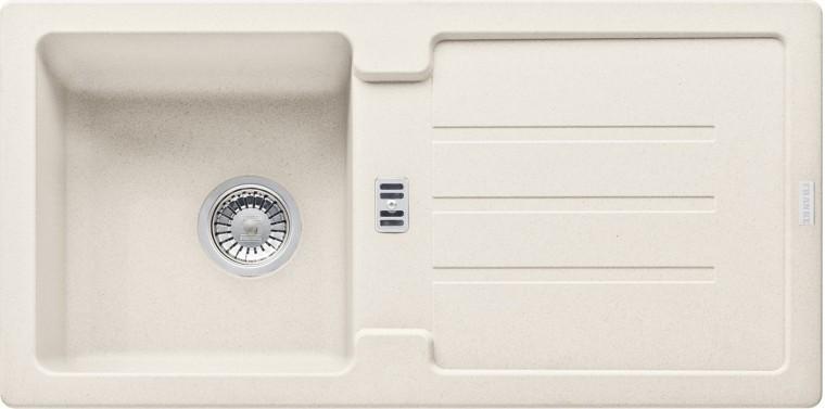 Dřez rovný Franke - dřez Fragranit STG 614, 860x435mm (vanilka)