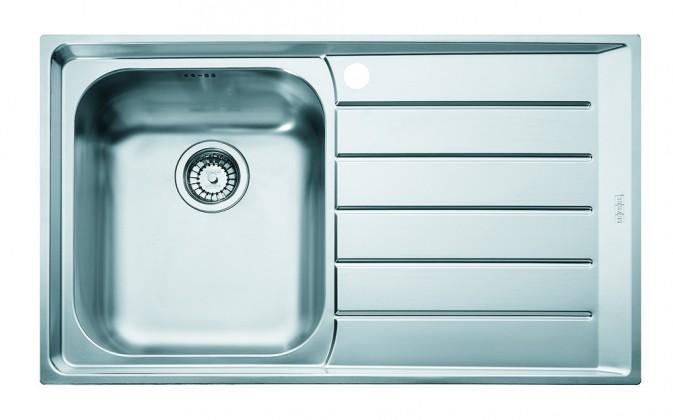 """Dřez rovný Franke - dřez nerez NEX 611 2 3 1/2"""", 860x510 mm (stříbrná)"""
