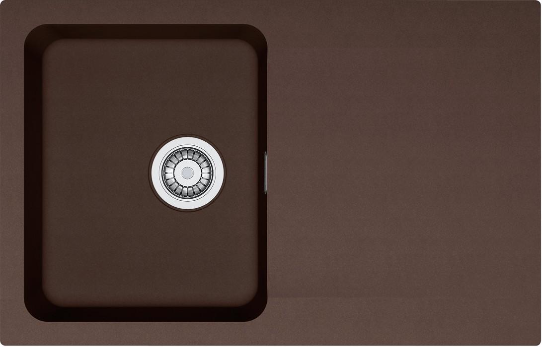 Dřez rovný Franke - dřez Tectonite OID 611-78, 780x500 mm (hnědá )