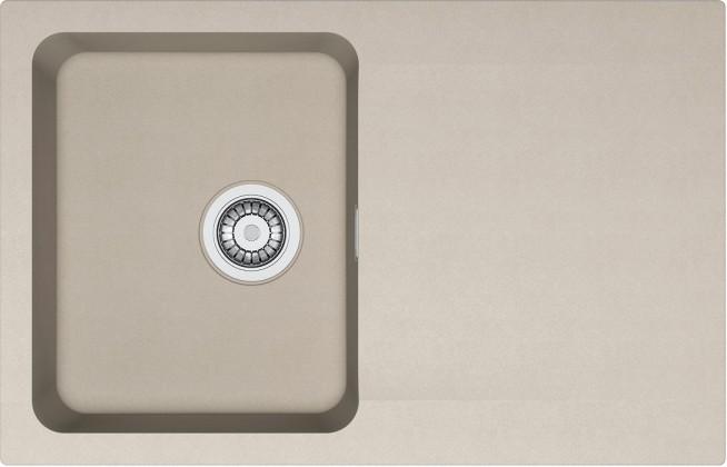 Dřez rovný Franke - dřez Tectonite OID 611-78, 780x500 mm (kávová)