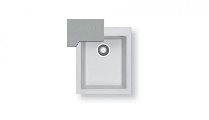 Dřez rovný Pyragranite Tetragon 1B - výtok.otvor 92 (410x500)