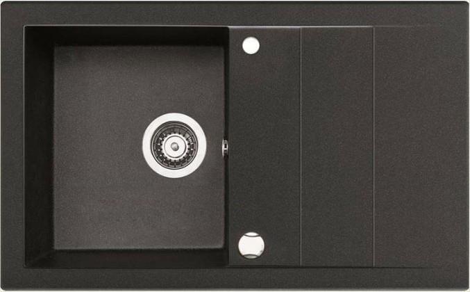 Dřez rovný Studio 1B 1D - výtok. otvor 92 (78x48)