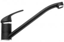 Dřezová baterie Asalia, černá, 22x15 cm