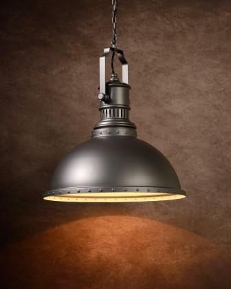 Dumont - stropní osvětlení, 18W, E27 (šedá)
