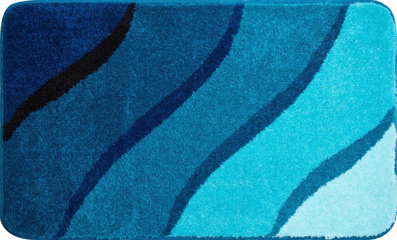 Duna - Koupelnová předložka 70x120 cm (tyrkysová)