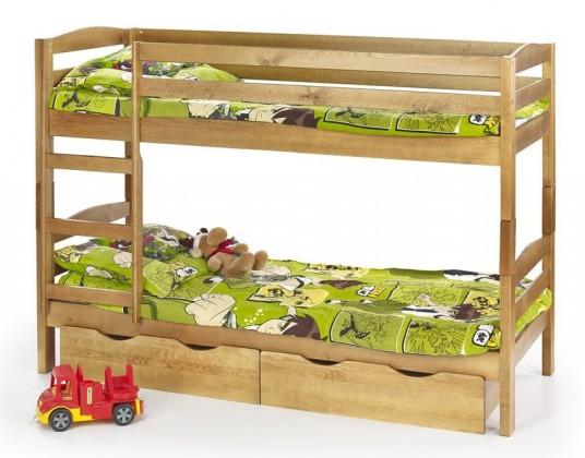 Dvoupatrová postel Sam (olše)