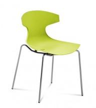 Echo - Jídelní židle (zelená pistáciová) - Z EXPOZICE