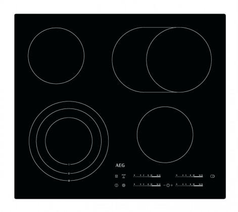 Elektrické desky Sklokeramická varná deska AEG HK 654070I-B