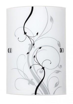 Elina - Nástěnná svítidla, E27 (bílá/černá)