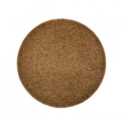 Elite Shaggy - koberec, 120x120 (100%PP shaggy, kulatý, hnědá)