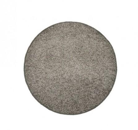 Elite Shaggy - koberec, 120x120 (100%PP shaggy, kulatý, šedá)