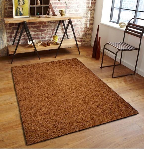 Elite Shaggy - koberec, 150x80cm (100%PP shaggy, hnědá)