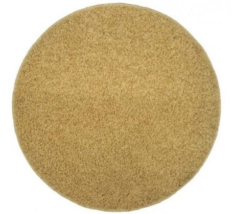 Elite Shaggy - koberec, 200x200 (100%PP shaggy, kulatý, béžová)