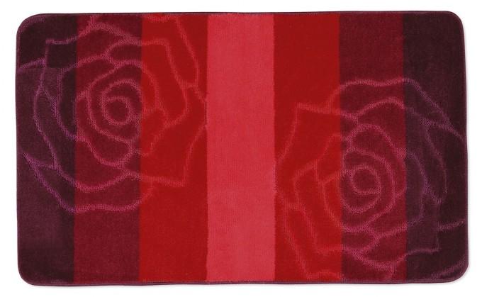 Elli - Koupelnová předložka 60x100 (červená růže)