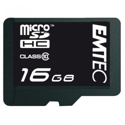 EMTEC micro SDHC 16GB (Class 10)