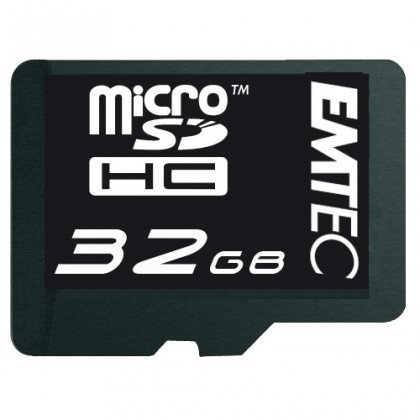 EMTEC micro SDHC 32GB (Class 4)