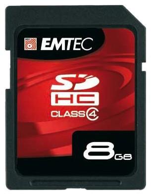 EMTEC SDHC 8GB (Class 4)