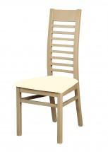 Eryka - jídelní židle (dřevo - dub sonoma/potah - látka)