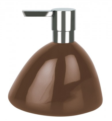Etna-Dávkovač mýdla SHINY brown(hnědá)