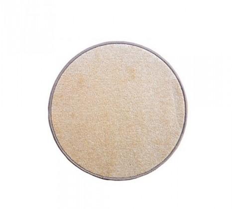 Eton - koberec, 100x100cm (100%PP, kulatý, béžová)