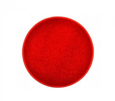 Eton - koberec, 100x100cm (100%PP, kulatý, červená)