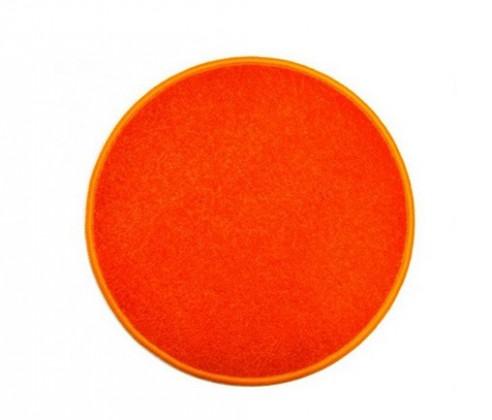 Eton - koberec, 100x100cm (100%PP, kulatý, oranžová)