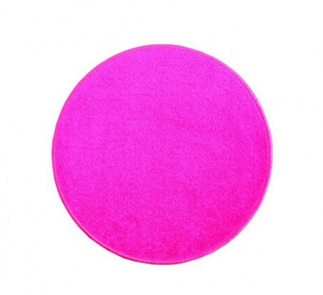 Eton - koberec, 100x100cm (100%PP, kulatý, růžová)