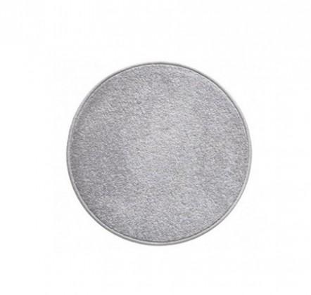 Eton - koberec, 100x100cm (100%PP, kulatý, šedá)