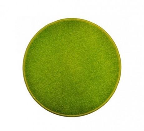 Eton - koberec, 100x100cm (100%PP, kulatý, zelená)