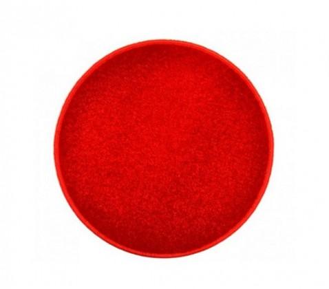 Eton - koberec, 120x120cm (100%PP, kulatý, červená)
