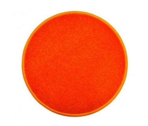Eton - koberec, 120x120cm (100%PP, kulatý, oranžová)