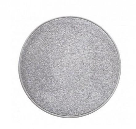 Eton - koberec, 120x120cm (100%PP, kulatý, šedá)