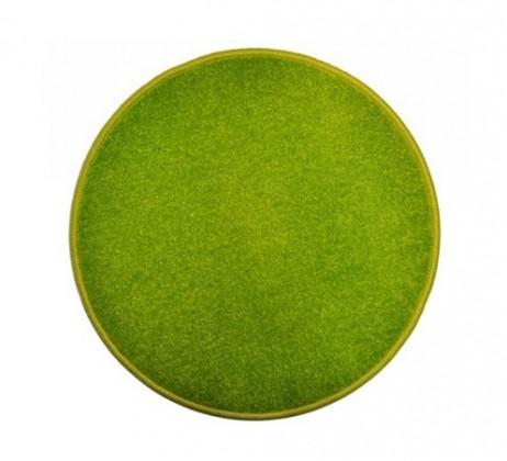 Eton - koberec, 120x120cm (100%PP, kulatý, zelená)