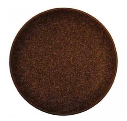 Eton - koberec, 160x160cm (100%PP, kulatý, hnědá)