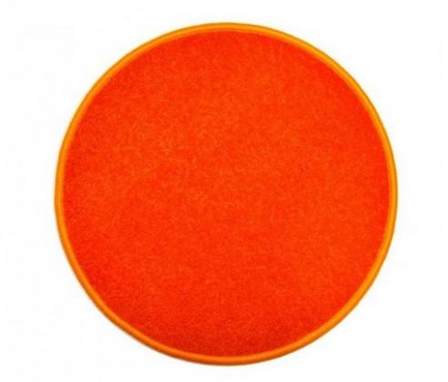 Eton - koberec, 160x160cm (100%PP, kulatý, oranžová)