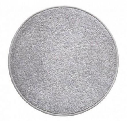Eton - koberec, 160x160cm (100%PP, kulatý, šedá)