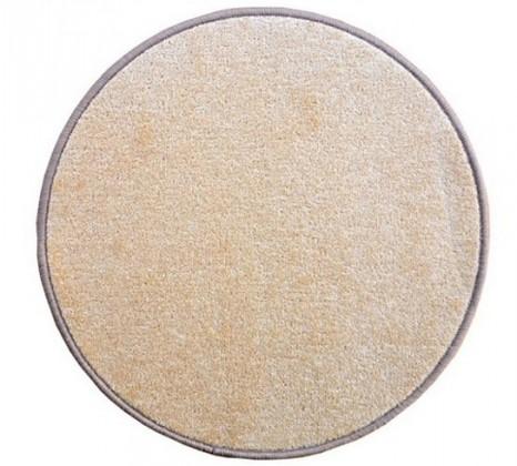 Eton - koberec, 200x200cm (100%PP, kulatý, béžová)