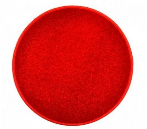 Eton - koberec, 200x200cm (100%PP, kulatý, červená)