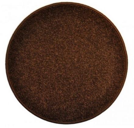 Eton - koberec, 200x200cm (100%PP, kulatý, hnědá)