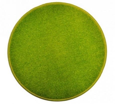 Eton - koberec, 200x200cm (100%PP, kulatý, zelená)