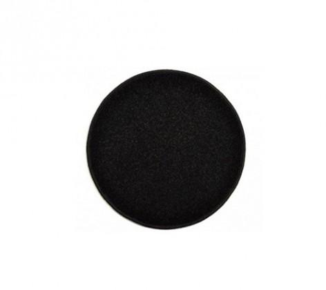 Eton - koberec, 57x57cm (100%PP, kulatý, černá)