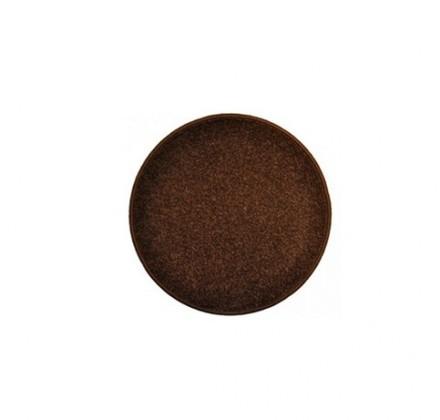 Eton - koberec, 57x57cm (100%PP, kulatý, hnědá)
