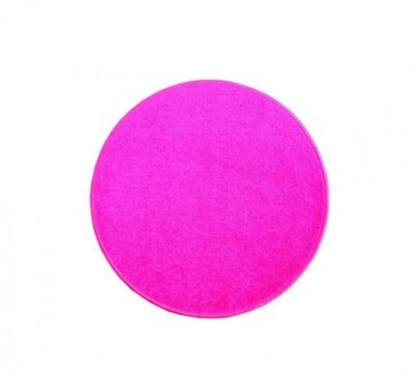 Eton - koberec, 57x57cm (100%PP, kulatý, růžová)