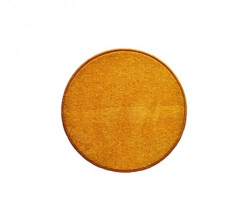 Eton - koberec, 57x57cm (100%PP, kulatý, žlutá)